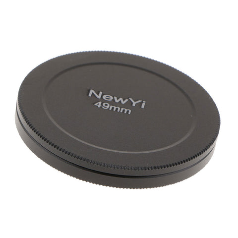 49 mm/1.93 inch Metal UV CPL Filter Case Protection Box Lens Cover Stack Storage Cap