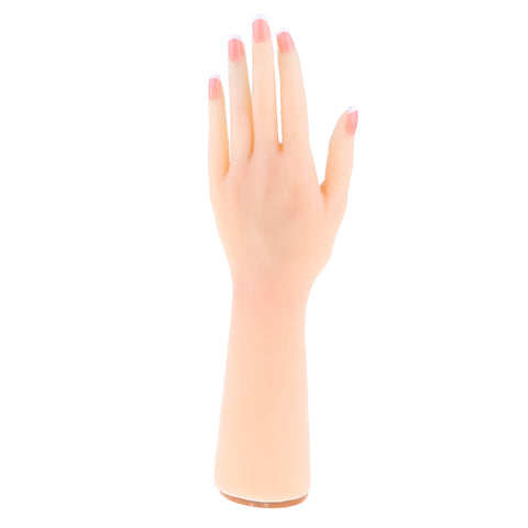 1:1 Realistic Human Female Hand Massage Acupuncture Model Nail Art Practice Jewelry Bracelet Ring Display Tool School Teaching –Left