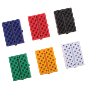 SYB-170 Mini Solderless Prototype Breadboard - Pack of 6