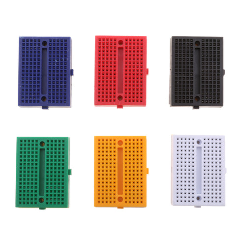 Image of SYB-170 Mini Solderless Prototype Breadboard - Pack of 6