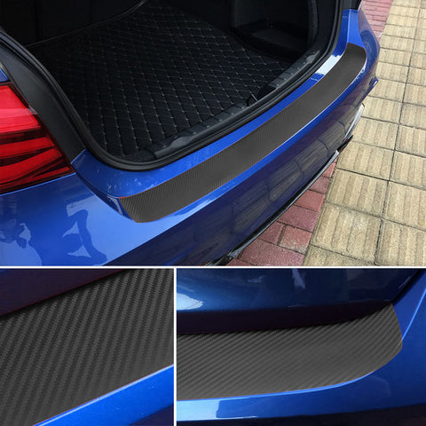 Image of 105cm Durable Rear Trunk Vinyl Sticker Cover Stripe Protective Film for BMW 3