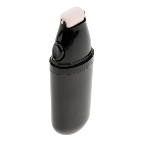 Image of Portable Refillable Raoller Makeup Bottle,Liquid Foundation Cream Container,Facial Concealer Rolling Bottle 30ml Black