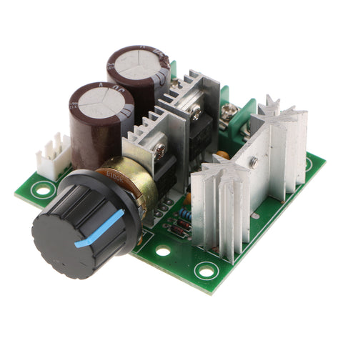 Image of 10A 12V-40V DC Motor Speed Controller 12V 24V 36V Power PWM Regulator Governor Switch