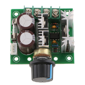 10A 12V-40V DC Motor Speed Controller 12V 24V 36V Power PWM Regulator Governor Switch