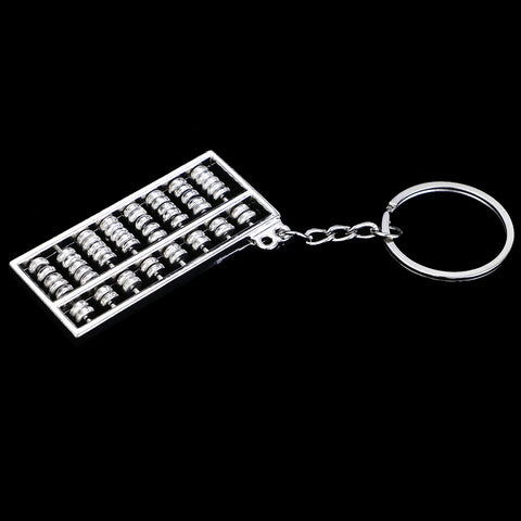 Image of Chinese Style Abacus Keychain Key Chain Ring Keyring mini Gifts For Boy Girl