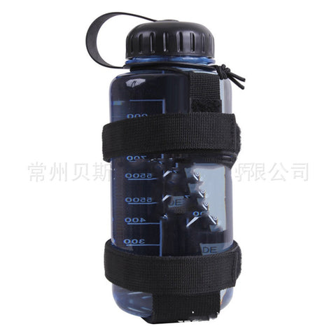 Image of Lightweight Nylon Molle Water Bottle Carrier  Pouch Holder for Outdoor Travel