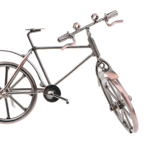 7 Inch Metalwork Iron Vintage Replica Bicycle Model Toy Craft Home Decoration Ornament
