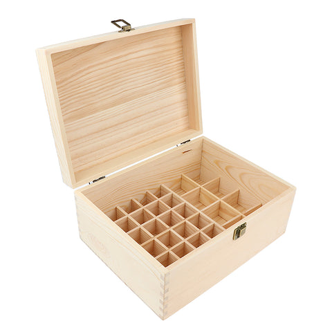 Image of 38 Bottles Essential Oil Wooden Box Storage Case Multi Tray Organizer Display Holder Best for Keeping Oils Safe