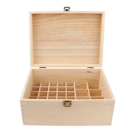 38 Bottles Essential Oil Wooden Box Storage Case Multi Tray Organizer Display Holder Best for Keeping Oils Safe