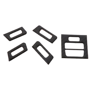 5 Pieces AC Outlet Vent Panel Cover Trim Sticker for BMW 3 Series E90 E92 E93