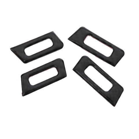 Image of 5 Pieces AC Outlet Vent Panel Cover Trim Sticker for BMW 3 Series E90 E92 E93