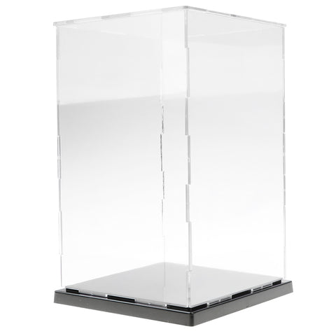 Image of 13x13x21cm Clear Model Display Box Figures Protection Show Case Home Decor