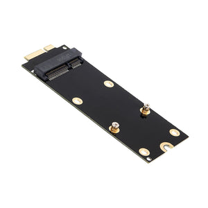 7+17 Pin mSATA SSD To SATA Adapter Card for 2012 MacBook Pro MC976/A1425