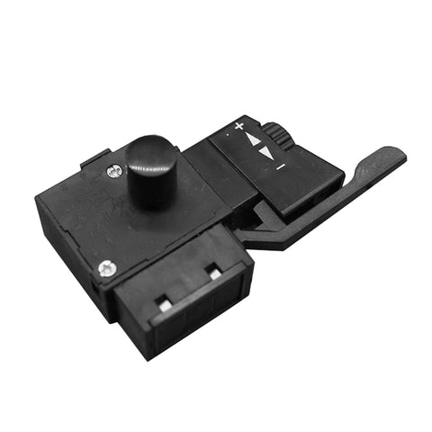 Image of Electric Hand Drill Speed Control Switch Lock On Power Tool Trigger Button