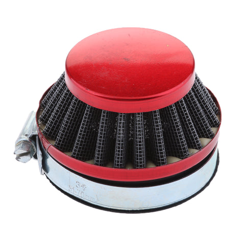 Image of 58mm Air Filter Red for Mini Moto Water Liquid Cooled Bike 39cc Minimoto