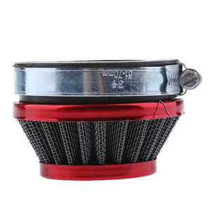 58mm Air Filter Red for Mini Moto Water Liquid Cooled Bike 39cc Minimoto