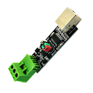 USB to RS485 TTL Serial Converter Adapter FTDI Interface FT232RL 3.04×0.73×0.63inch