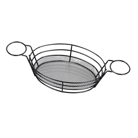 Image of Stainless Steel French Fries Serving Basket for Fries Chips Fish Chicken