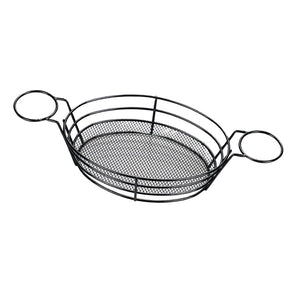 Stainless Steel French Fries Serving Basket for Fries Chips Fish Chicken