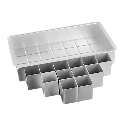 Image of Rectangle Cake Mold Pan Muffin Chocolate Baking Tray Mould Free Baking Pan