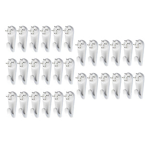 Non-Trace Hardwall Drywall Hanger Hook for Picture Photos Hanging 30pcs