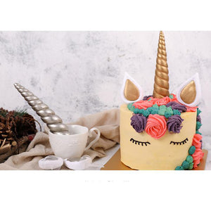 1 Set Unicorn Cake Topper Happy Birthday Candle Party Supplies Decor DIY