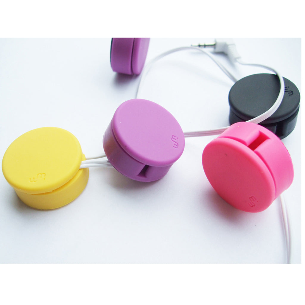 Cord Organizer, Earbud Holder, Headphone Organizer, Earbuds Wrap, Earphone Cable Winder Manager