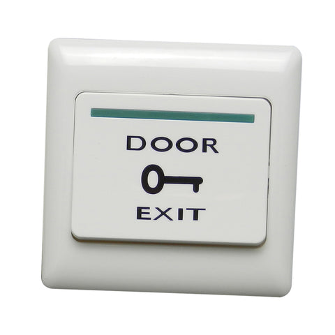 Image of Fireproof Resin Door Exit Push Release Button Switch For Access Control