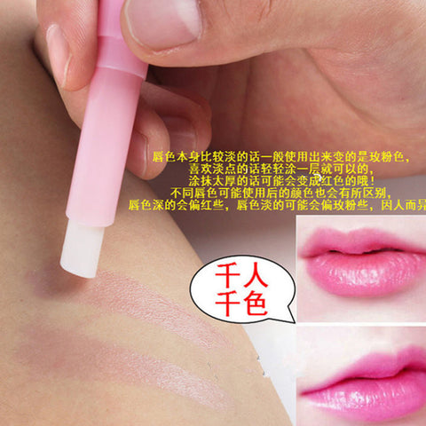 5Pcs Color Changing Lip Balm Long Lasting Moisturizing Lip Cream Lipstick