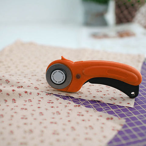 Rotary Cutter Stainless Steel Sharp Blade for Quilting Craft Tailoring