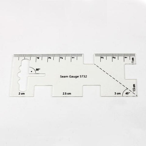 Clear Acrylic Quilting Template DIY Sewing Cutting Drawing Ruler Tools