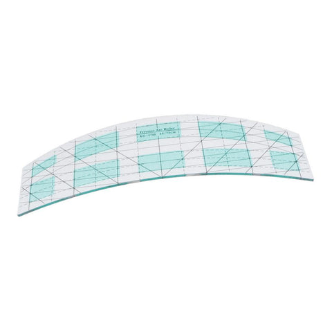 Non-slip Square Acrylic Ruler Set Quilting Ruler for Designer Tailor