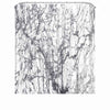 Mosaic Waterproof Bathroom Curtain with Hook Bath Curtain Marble