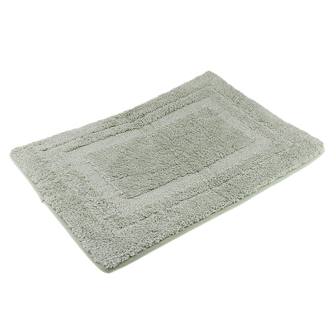 Bathroom Non-Slip Door Mat Bathmat Floor Rug Pure Color Light Green 50x80cm