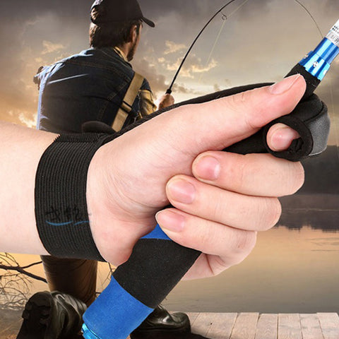 Image of Single-Finger Fishing Glove Fishing Lure Line Control Glove Stall Protector