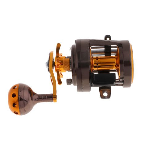 Drum Fishing Reel Bait Casting Aluminum Alloy Sea Trolling Reel Left Hand