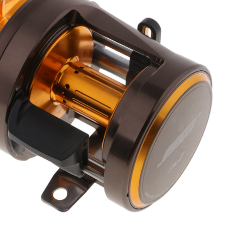 Image of Drum Fishing Reel Bait Casting Aluminum Alloy Sea Trolling Reel Left Hand