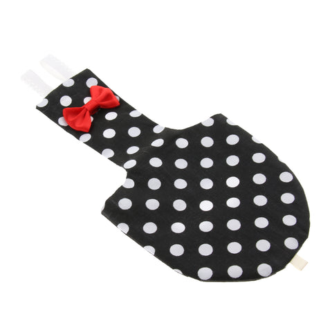 Bird Washable Pocket Diaper Nappy Reusable Nappies for Small Bird Black XS