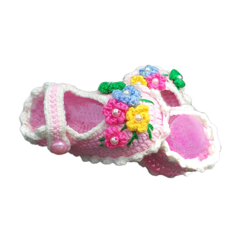 1 Set Woven Crochet Shoes Kit Sewing Supplies for Crafts Lovers 11cm