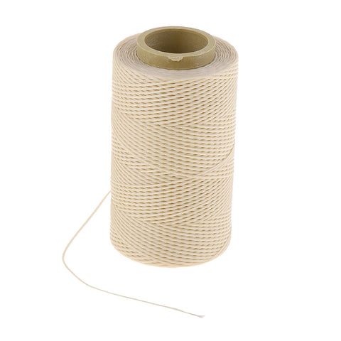 1 Piece Polyester Waxed Thread Cord 1mm Tent Backpack Leather Sewing A103