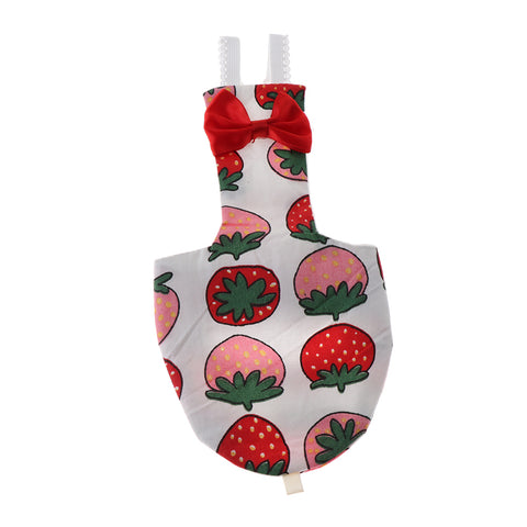 Image of Parrot Reusable Nappies Pocket Cloth Diaper Bird Pee Pad Strawberry L