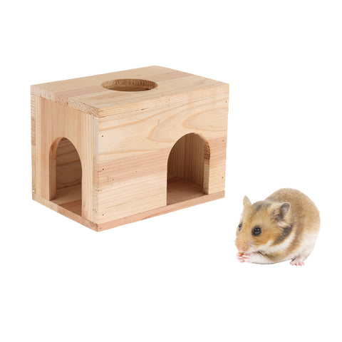 Small Animals Hut Toy Hamster, Gerbil Guinea Pig Beautiful House 3 Arch