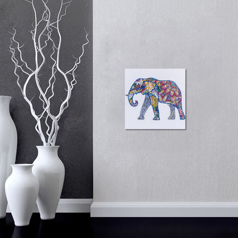Diamond Painting Special Shaped Animal Picture DIY Home Decor Elephant 1