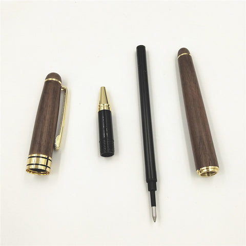 1pc Wooden Signature Pen 0.5mm Personalized Party Father's Day Mother's Gift