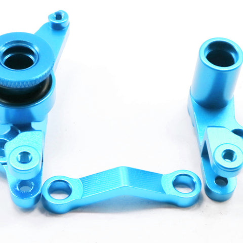 Aluminum Steering Linkage for Traxxas Slash 4X4 1/10 RC Car Parts Blue