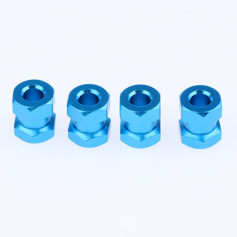 12mm Hex Hub 15-25mm Extension Adapter Combiner for RC Crawler Blue -15mm