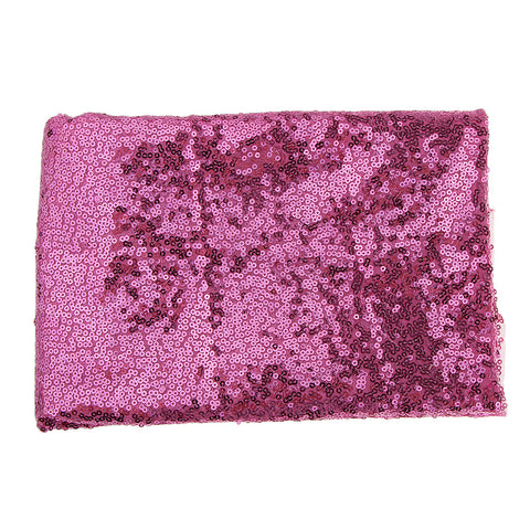 3mm Sequin Fabric By the Yards for Party Dress Clothing Making Pink