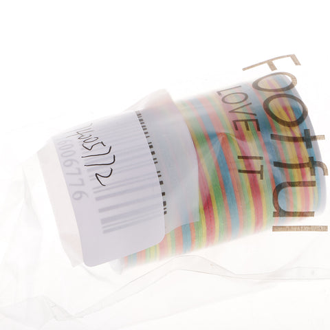 0.8mm Flat Waxed Polyester Thread For Sewing DIY Jewelry Making Rainbow
