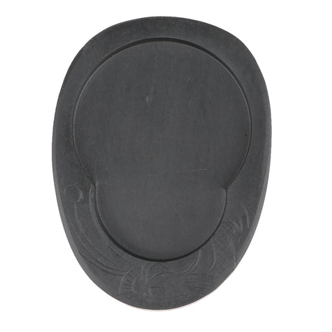 5inch Chinese Calligraphy Natural Inkstone Chinese Traditional Culture