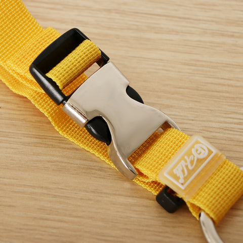 Add-A-Bag Luggage Strap Jacket Gripper, Baggage Suitcase Straps Belts Yellow